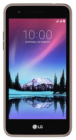 """купить Смартфон LG K7 2017 титан 5"""" 8 Гб LTE Wi-Fi GPS 3G 4G LGX230.ACISTN недорого"""