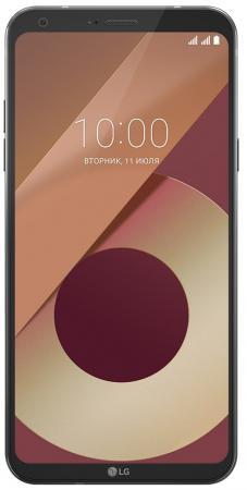 Смартфон LG Q6a черный 5.5 16 Гб LTE Wi-Fi GPS 3G смартфон lg x power 2 золотистый 5 5 16 гб lte wi fi gps 3g lgm320 acisgd
