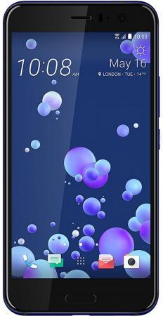 Смартфон HTC U11 синий 5.5 64 Гб NFC LTE Wi-Fi GPS 3G 99HAMB078-00 смартфон htc u play 32gb brilliant black черный 99halv044 00