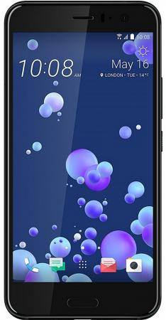 Смартфон HTC U11 черный 5.5 128 Гб NFC LTE Wi-Fi GPS 3G 99HAMB123-00 htc смартфон htc u11 128gb ram 6gb silver серебристый