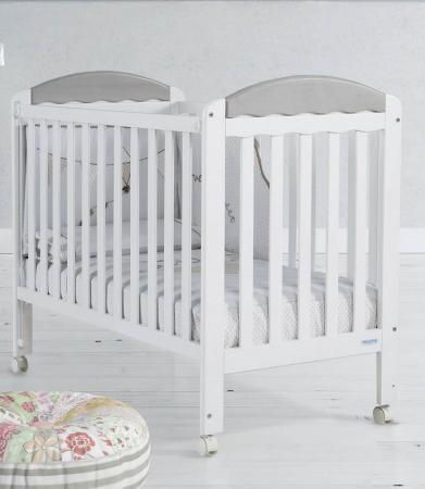 Кроватка Micuna Judith (white/grey)