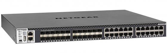 Коммутатор NETGEAR XSM4348S-100NES 24 порта коммутатор netgear xs708t 100nes xs708t 100nes