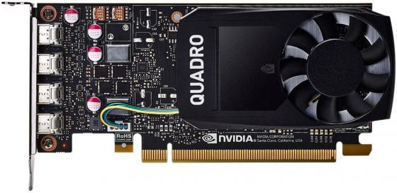 Видеокарта HP Quadro P1000 1ME01AA PCI-E 4096Mb GDDR5 128 Bit Retail видеокарта pny quadro nvs 810 vcnvs810dviblk 1 pci e 4096mb gddr3 128 bit retail