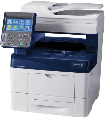 МФУ Xerox WorkCentre 6655iX цветное A4 36ppm 2400x600dpi Ethernet USB #6655IV_X