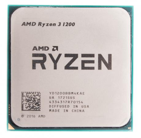 Процессор AMD Ryzen 3 1200 YD1200BBM4KAE Socket AM4 OEM thermalright le grand macho rt computer coolers amd intel cpu heatsink radiatorlga 775 2011 1366 am3 am4 fm2 fm1 coolers fan