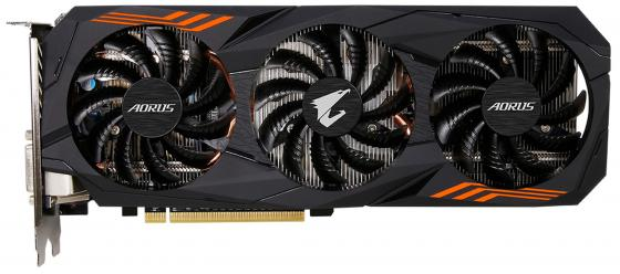 все цены на Видеокарта 6144Mb Gigabyte GeForce GTX1060 PCI-E 192bit GDDR5 DVI HDMI DP GV-N1060AORUS-6GD rev. 2.0 Retail онлайн