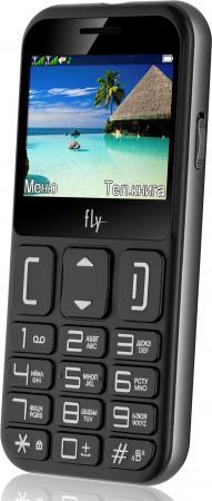 Мобильный телефон Fly Ezzy 9 черный 2.3 32 Мб мобильный телефон fly ezzy trendy 3 серый 2 4 32 мб