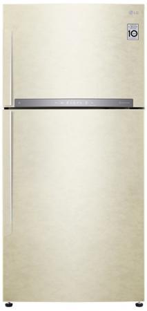 Холодильник LG GR-H802HEHZ бежевый lg gr n389 sqf