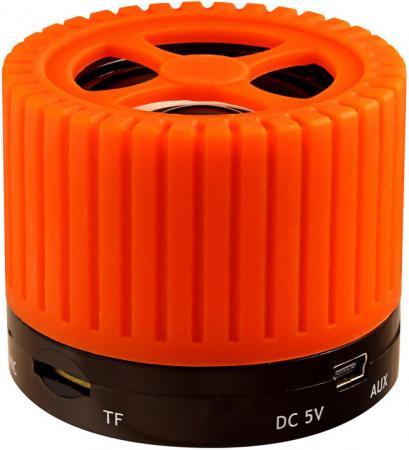 Портативная акустика Ginzzu GM-988O оранжевый/черный диск пластиковый star fit bb 20 d 26 мм черный 1кг