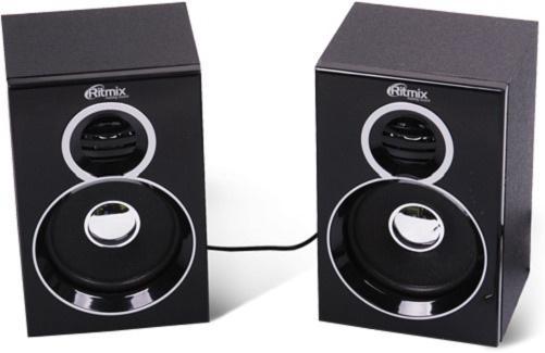 Колонки Ritmix SP-2013w 2x3 Вт черный