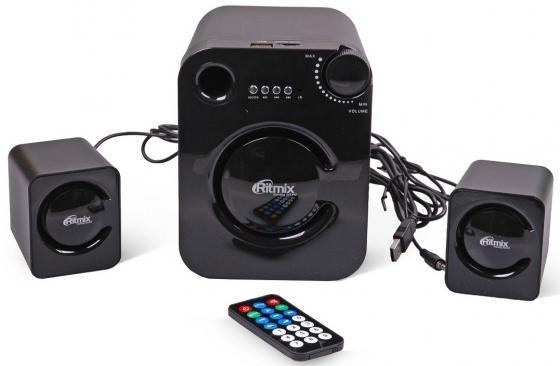 Колонки Ritmix SP-2160BTH 5+2x3 Вт черный видеорегистратор ritmix avr 424