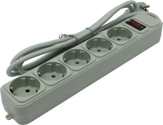 Сетевой фильтр Exegate SP-5-1.8G 5 розеток 1.8 м EX221173RUS