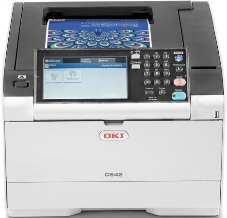 Принтер OKI 46490629 цветной A4 30ppm 1200x1200dpi 1024Мб Ethernet USB oki b401dn