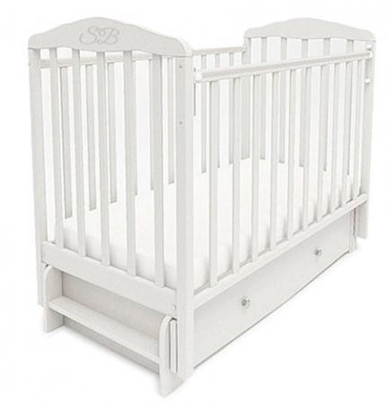 Кроватка с маятником Sweet Baby Eligio (bianco/белый)