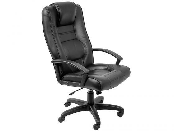 Кресло Buro T-9906AXSN искусственная кожа черный