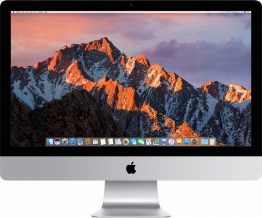 "Моноблок 27"" Apple iMac 5120 x 2880 Intel Core i7-7700K 8Gb 2Tb AMD Radeon Pro 580 8192 Мб macOS серебристый Z0TR002NU, Z0TR/9"