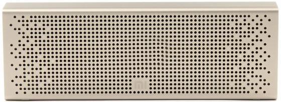 Портативная акустика Xiaomi Mi Bluetooth Speaker золотистый QBH4057US портативная акустика xiaomi mi bluetooth speaker basic 2 white fxr4066gl