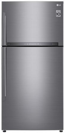Холодильник LG GR-H802HMHZ серебристый lg gr n389 sqf