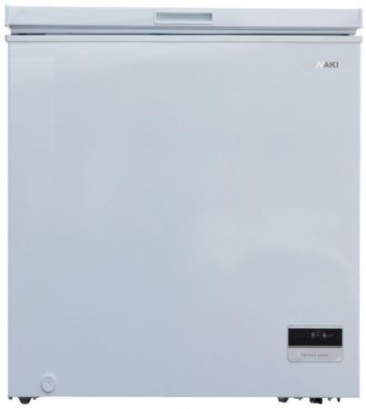Морозильный ларь SHIVAKI CF-1501DW белый морозильный ларь бирюса б 260к