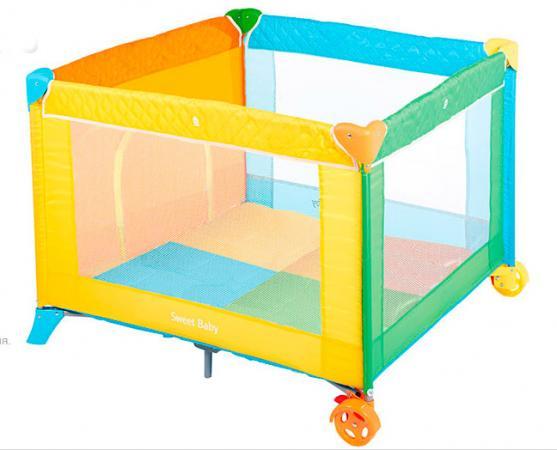 Манеж Sweet Baby Carnevale Colore Quadro игровой манеж sweet baby carnevale colore quadro 389 766