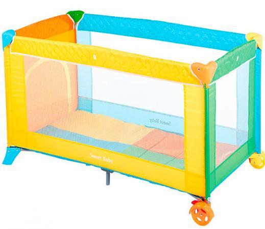 Манеж-кровать Sweet Baby Carnevale Colore игровой манеж sweet baby carnevale colore quadro 389 766