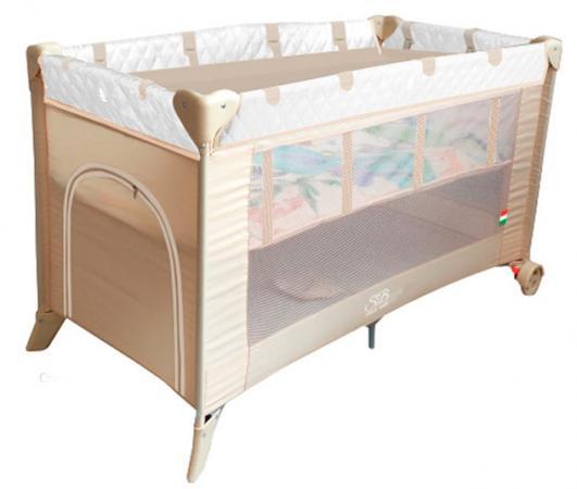 Манеж-кровать 5-в-1 Sweet Baby Intelletto (crema) игровой манеж sweet baby carnevale colore quadro 389 766