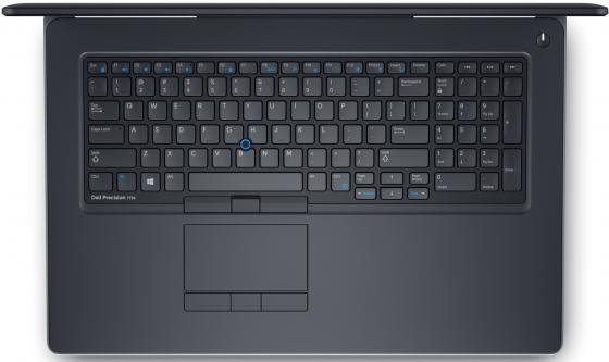 """Ноутбук DELL Precision 7720 17.3"""" 1920x1080 Intel Core i7-6820HQ 2 Tb 256 Gb 16Gb nVidia Quadro M1200M 4096 Мб черный Windows 10 Professional 7720-8048"""
