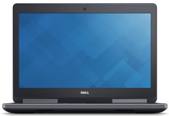 Ноутбук DELL Precision 7520 15.6 3840x2160 Intel Core i7-7820HQ 2 Tb 512 Gb 16Gb nVidia Quadro M2200M 4096 Мб черный Windows 10 Professional 7520-8024