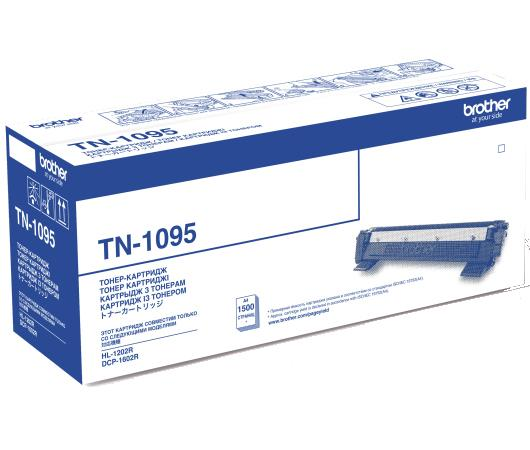 Картридж Brother TN1095 для Brother HL-1202R/DCP-1602R черный 1500стр картридж brother tn 1095 для dcp 1602r hl 1202r 1500стр