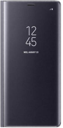 Чехол Samsung EF-ZN950CVEGRU для Samsung Galaxy Note 8 Clear View Standing Cover Great фиолетовый EF-ZN950CVEGRU чехол клип кейс samsung для samsung galaxy note 8 clear cover great фиолетовый ef qn950cvegru