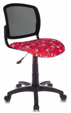 Кресло детское Бюрократ CH-296/ANCHOR-RD спинка сетка черный сиденье красный якоря чехол на сиденье autoprofi mtx 1105 bk rd m