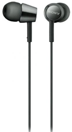 Наушники SONY MDR-EX155 черный стоимость