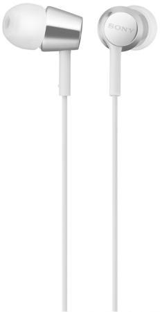 Гарнитура SONY MDR-EX155AP белый
