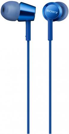 Гарнитура SONY MDR-EX155AP синий