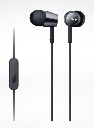 цена на Гарнитура SONY MDR-EX155AP черный