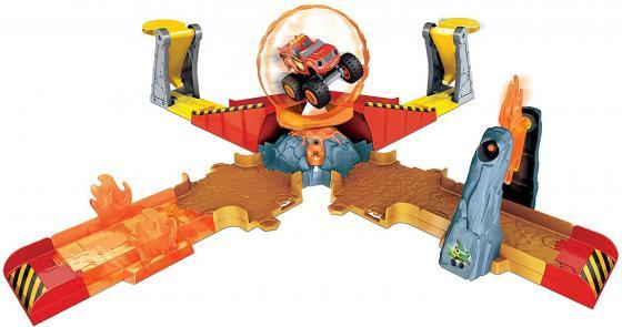 Игровой набор Barbie (Mattel) Blaze Вспыш: Прыжок через пылающий вулкан DGK85 mattel barbie fcp76 игровой набор строитель