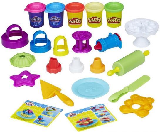 Набор для лепки HASBRO Play-Doh B9741 5 цветов hasbro play doh b5868 игровой набор главная улица