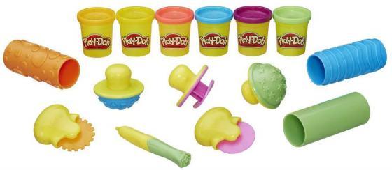 Набор для лепки HASBRO Play-Doh B3408 6 цветов play doh краски гуашевые 6 цветов