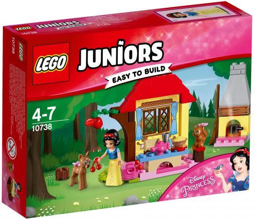 lego lego juniors 10673 ралли на гоночных автомобилях Конструктор LEGO Juniors: Лесной домик Белоснежки 67 элементов 10738