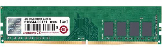 Оперативная память 4Gb (1x4Gb) PC4-19200 2400MHz DDR4 DIMM CL17 Transcend JM2400HLH-4G