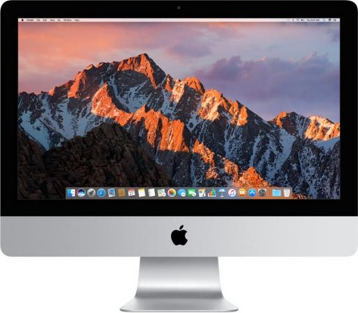 "купить Моноблок 21.5"" Apple iMac 1920 x 1080 Intel Core i5-7360U 16Gb 1Tb Intel Iris Plus Graphics 640 macOS серебристый Z0TH000CS, Z0TH/1 по цене 98720 рублей"