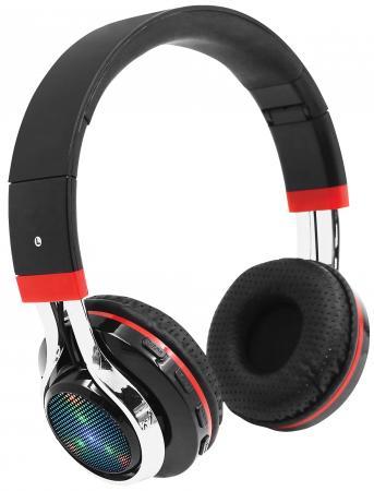 Гарнитура QUMO Freedom Style BT-0014 черный красный