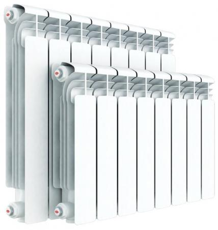 Радиатор алюминиевый Rifar Alum 500 х 5 секций собранный биметаллический радиатор rifar рифар b 500 нп 10 сек лев кол во секций 10 мощность вт 2040 подключение левое