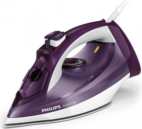 Утюг Philips GC2995/30 2400Вт фиолетовый утюг philips gc4506 20 2400вт белый