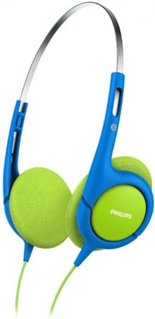 Наушники Philips SHK1030/00 синий зеленый