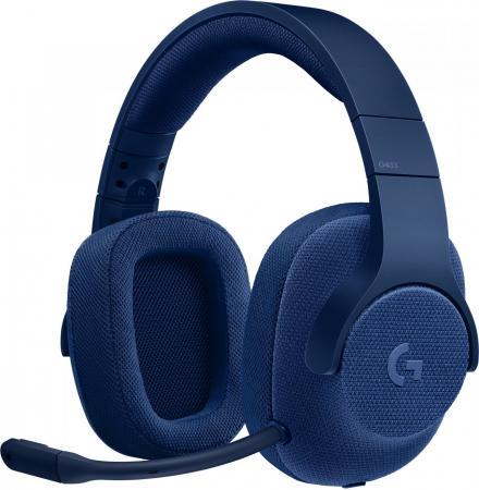 Гарнитура Logitech G433 ROYAL BLUE синий 981-000687 bluetooth гарнитура logitech g433 7 1 синий