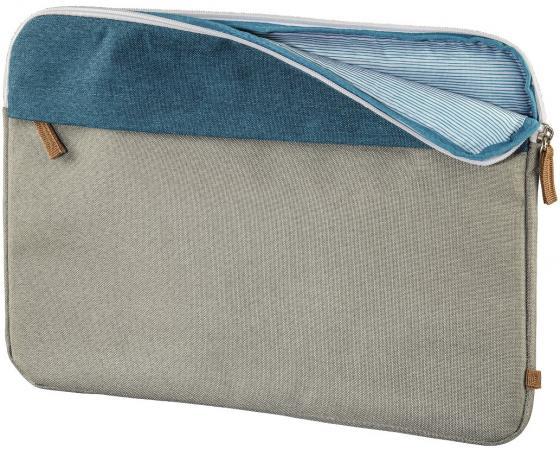 Чехол для ноутбука 13.3 HAMA Florence полиэстер серый 00101571