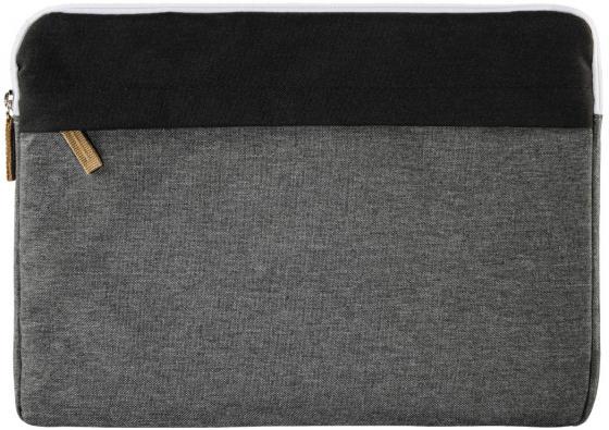 Чехол для ноутбука 13.3 HAMA Florence полиэстер серый 00101566 сумка для ноутбука 13 3 hama florence полиэстер черный серый 00101567