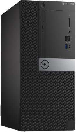 Системный блок DELL Optiplex 7050 MT i7-6700 3.4GHz 16Gb 512Gb SSD R7 450-4Gb DVD-RW Linux клавиатура мышь черный/серебристый 7050-8239 компьютер dell optiplex 5050 intel core i3 7100t ddr4 4гб 128гб ssd intel hd graphics 630 linux черный [5050 8208]