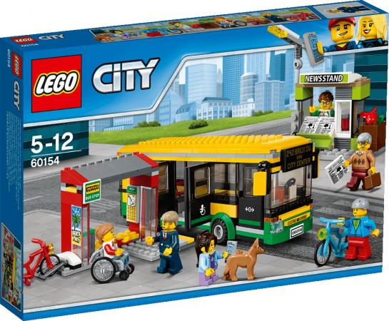 Конструктор LEGO Автобусная остановка 60154 337 элементов